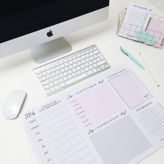 Schreibtischunterlage 2016 Sehr Schone Ideen Sehr Schone Produkte