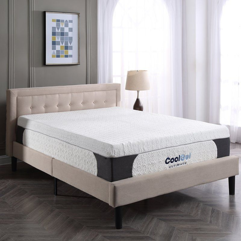 Cool Gel 14 Medium Gel Memory Foam And Memory Foam Mattress Gel