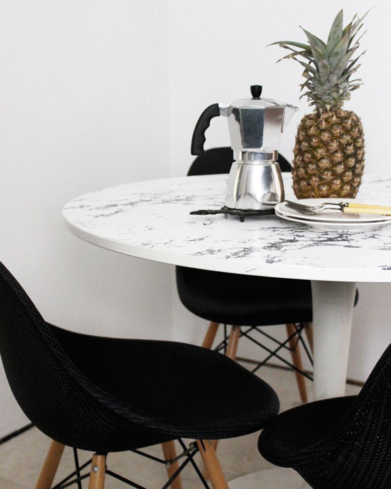 Table Salle à Manger Marbre: 5 Tables DIY Pour Votre Salle à Manger