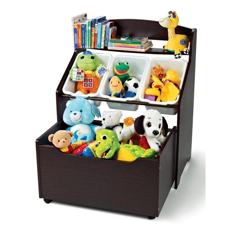 Tot Tutors Toy Organizer Wayfair Toy Storage Boxes Toy Storage Bins Kid Toy Storage