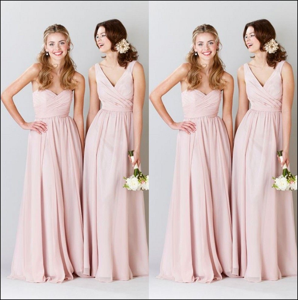 Pink champagne colored bridesmaid dresses dresses and gowns pink champagne colored bridesmaid dresses ombrellifo Image collections