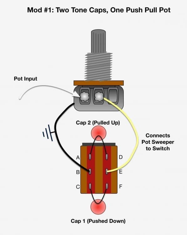 Bcb Badbd C C B Eb B as well Potentiometer Diagram moreover Room Lights Diagram in addition Ultra Tone Stack Pots further Rf Pic Remote Volume Control With Speaker Protection. on potentiometer for volume control wiring diagram