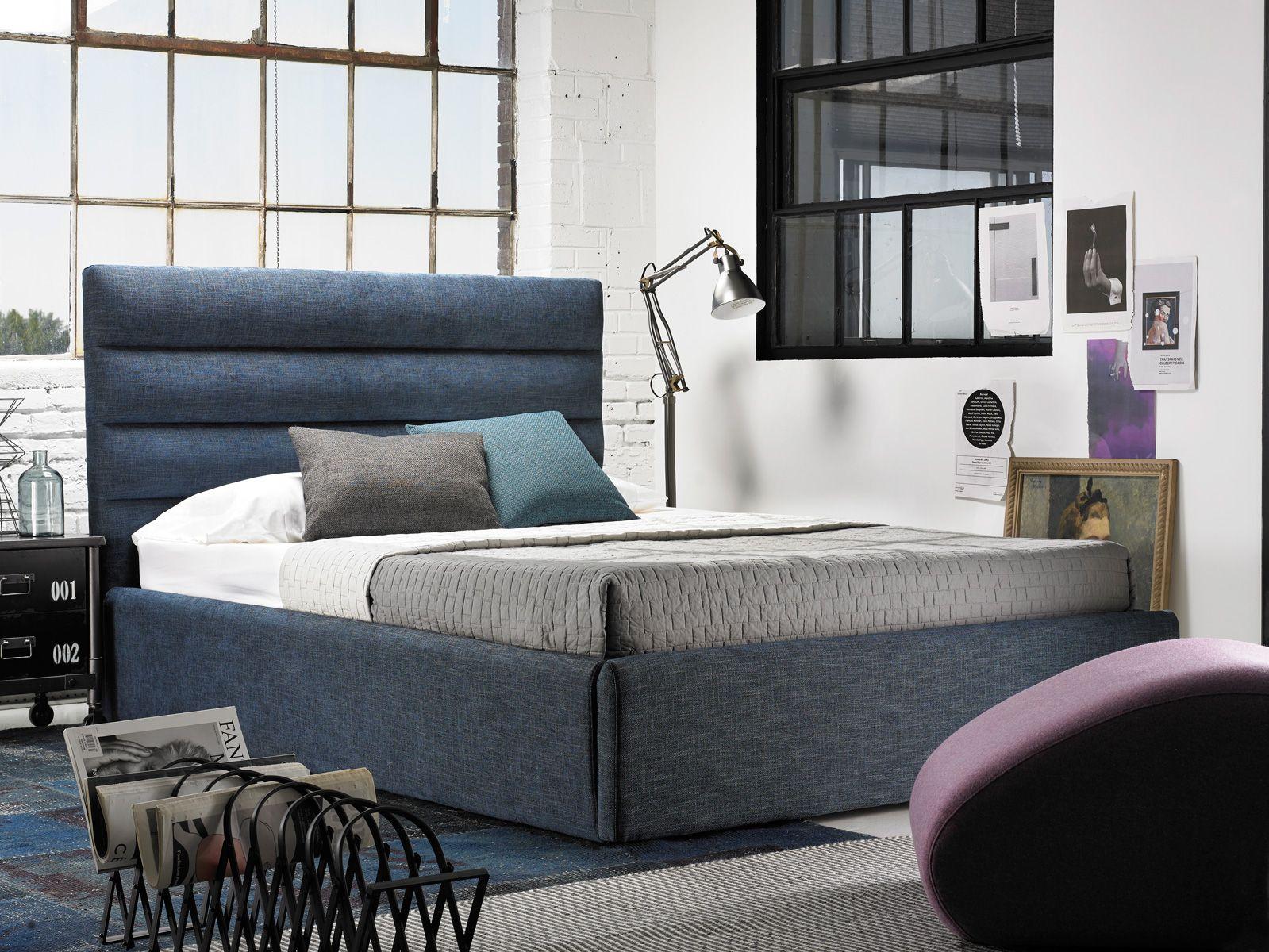 Amazing Verona Upholstered Storage Bed Made In Montreal G Romano Evergreenethics Interior Chair Design Evergreenethicsorg
