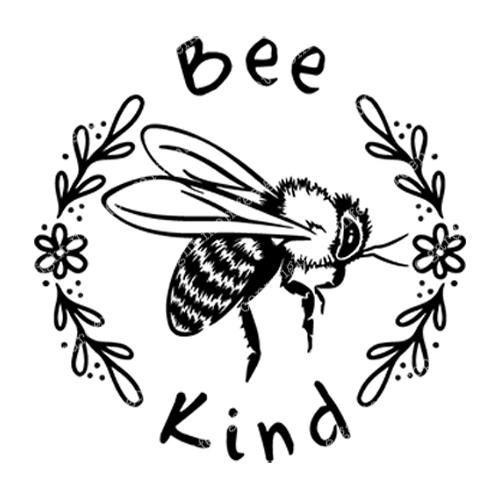 Bee Kind Decal Bee Drawing Bee Art Bee Stencil