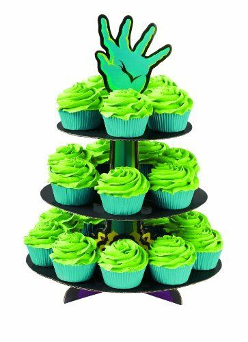 How cool would it be if you bit into one of these and green ooze - wilton halloween cupcake decorations
