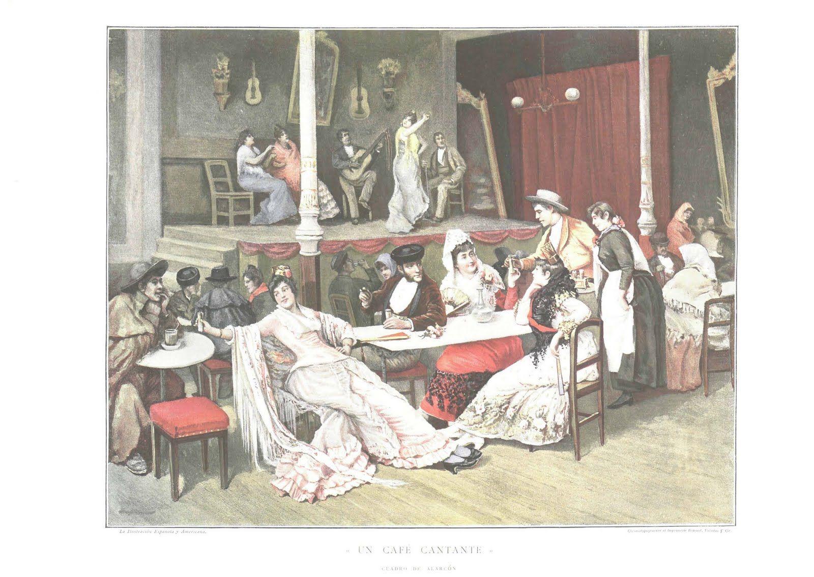 Cafés de Cante / 1864 – 1908 | Flamencopolis www.flamencopolis.com1600 × 1134Buscar por imagen Visitar página  Ver imagen
