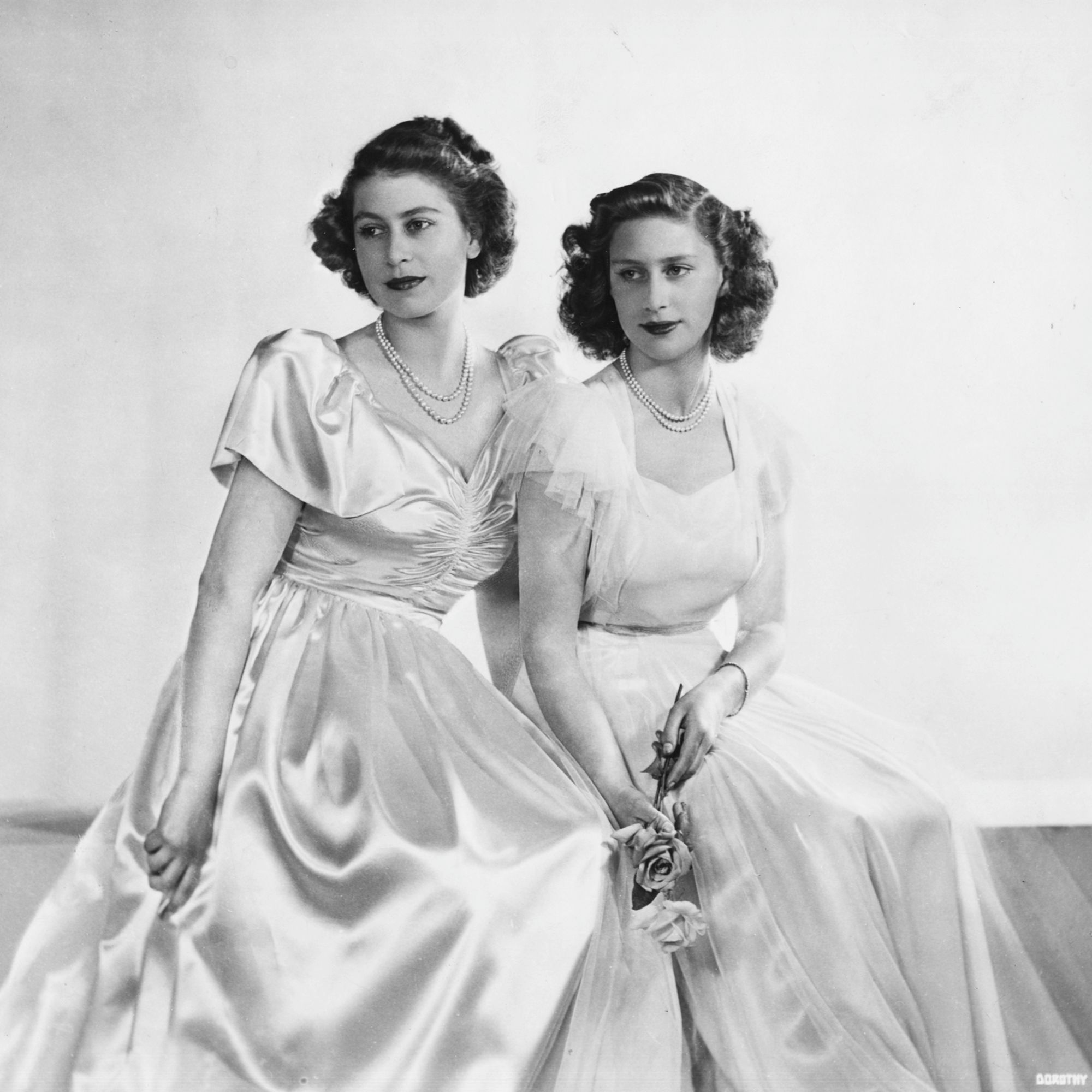 1902 - 2016 ~ The British Royal Family Through the Years. Over 70 rarely seen PHOTOS, with dates. Here 1946 ~ Princess Elizabeth and her sister Princess Margaret