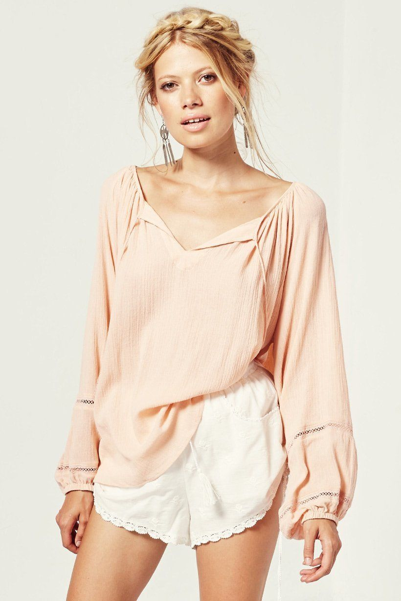 luxe blouse