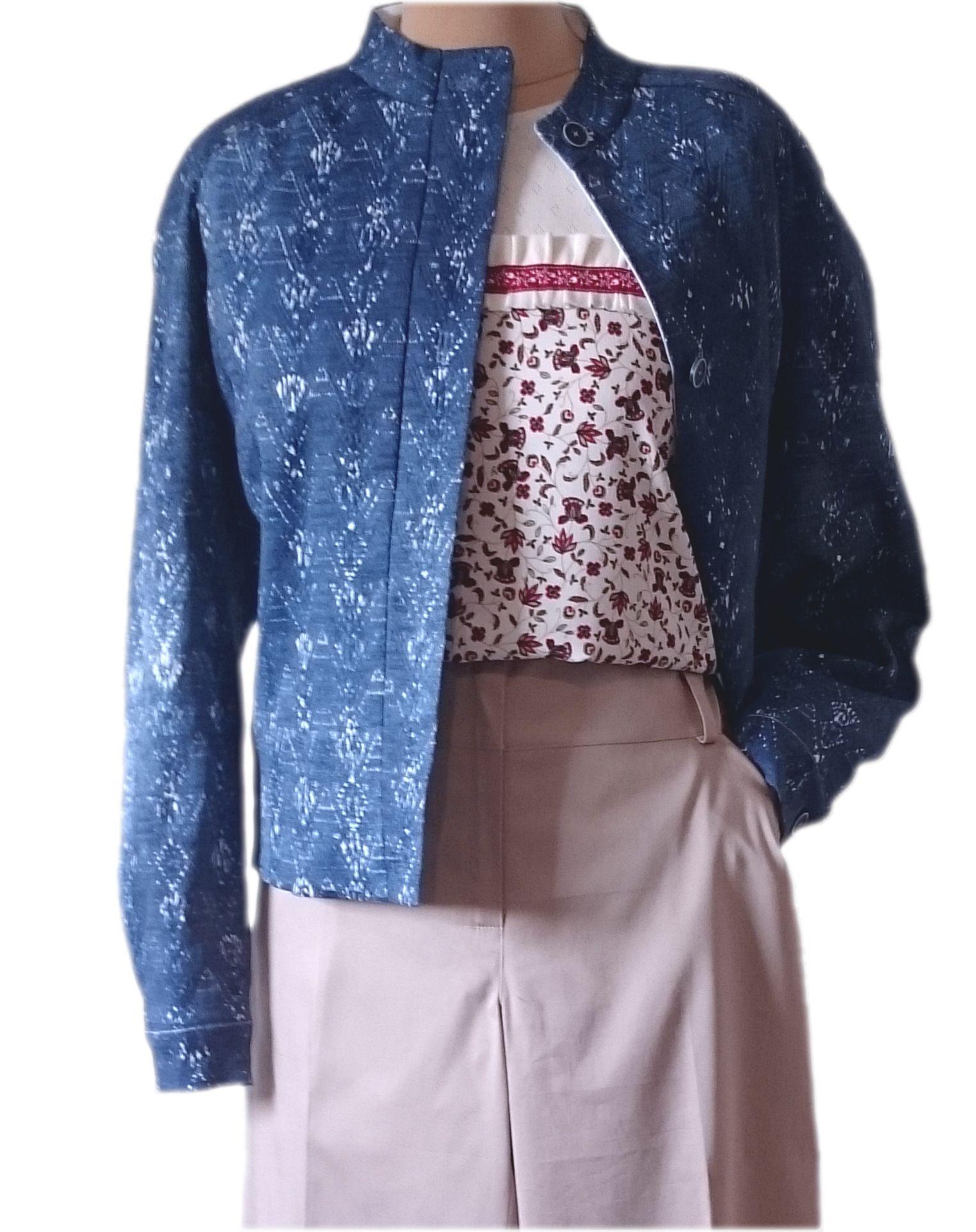 Jacket Blouson Summer In JacketDenim 2019 wk0PX8On