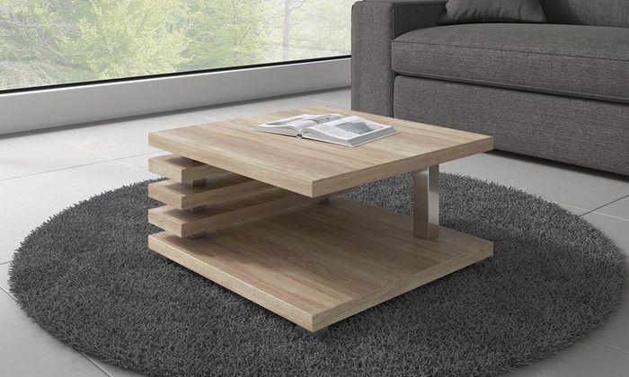 Il tavolino oslo è ideale per dare un aspetto moderno e curato ad