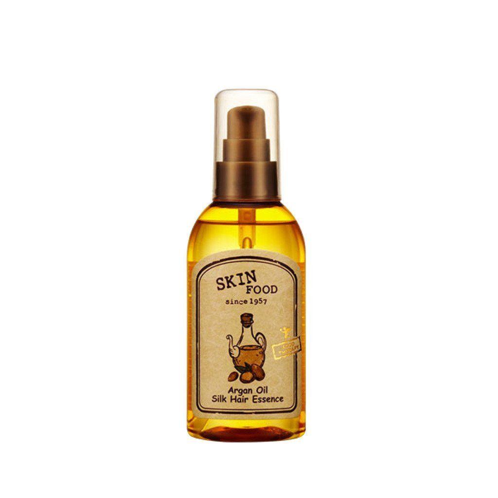 [Skin Food] Argan Oil Silk Hair Essence 3.40Oz/100Ml * For ...