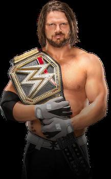 Aj Styles Wwe Champion By Hamidpunk Aj Styles Wwe Aj Styles Wwe Champions