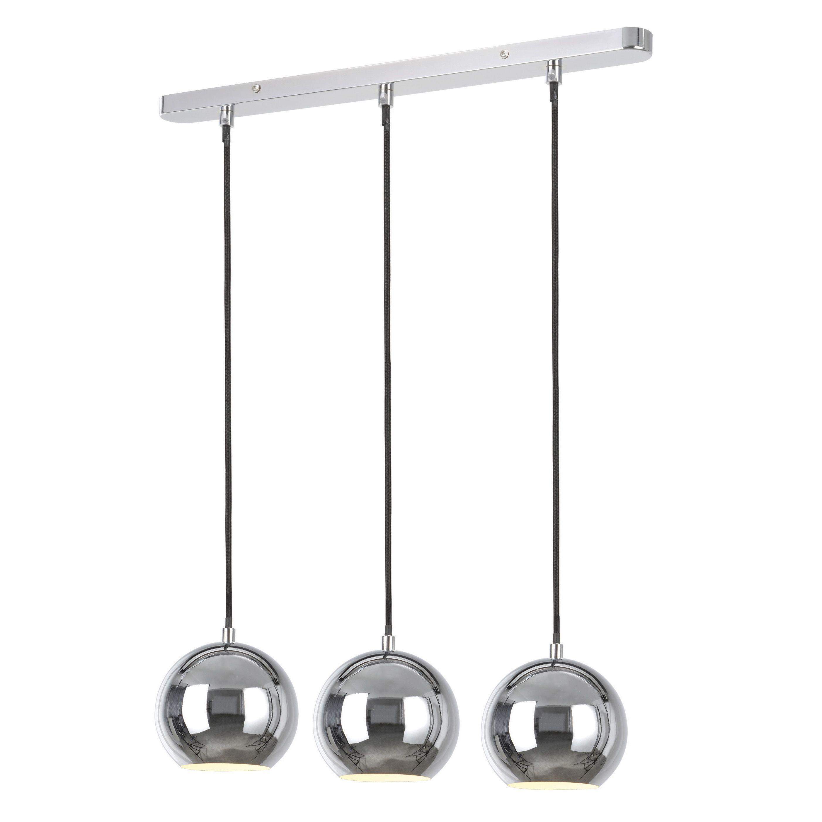 Colours Bamberga 3 Lamp Metal Ceiling Light Departments Diy At B Q Ceiling Pendant Lights Ceiling Lights Metal Ceiling Lighting