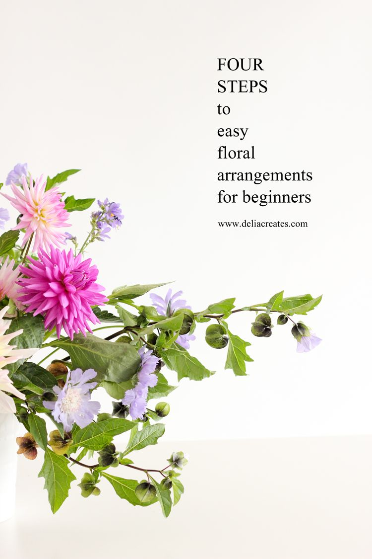 Four Steps To Easy Floral Arrangements For Beginners