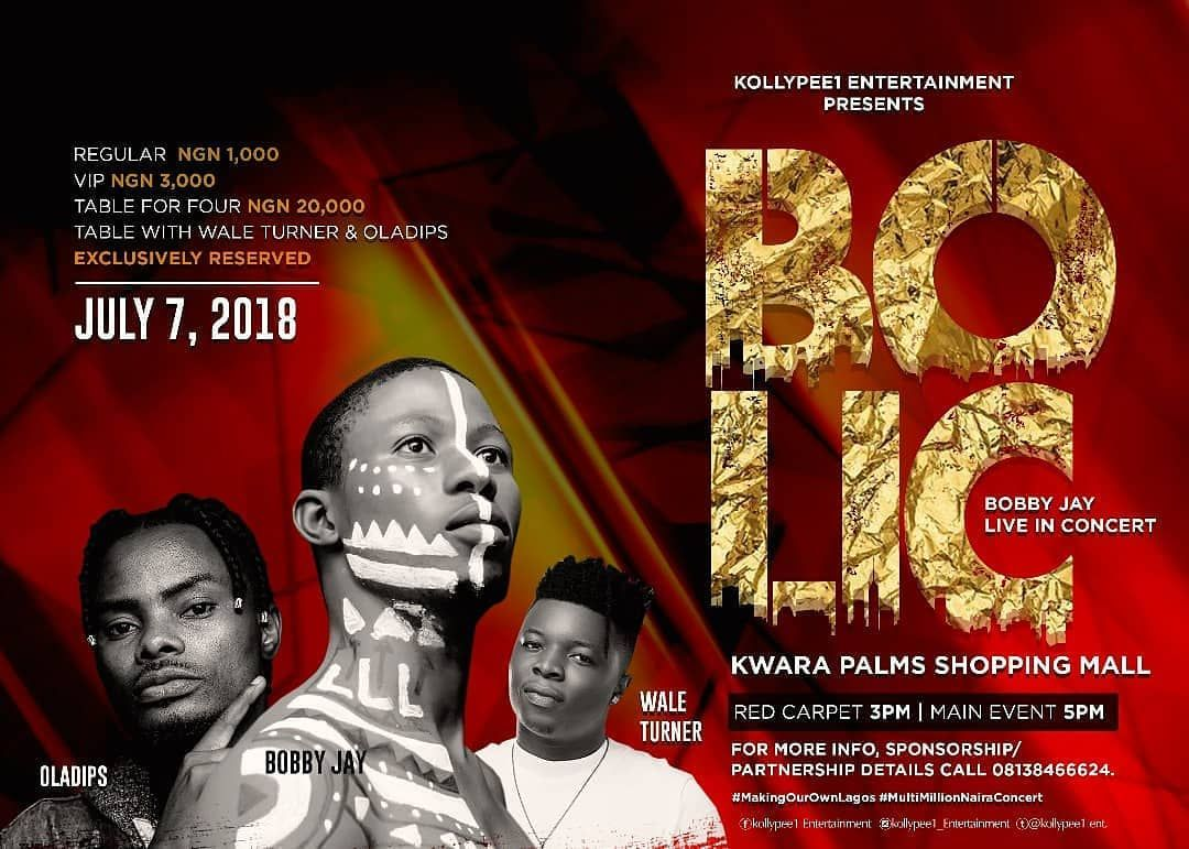 The Highly Anticipated Multi Million Naira Concert Bolic Has Been Scheduled To Hold On The 7th Of July At Kwara Palms Shopping Mall In 2020 Shopping Mall Concert Kwara