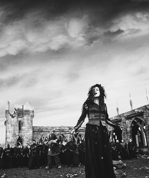Bellatrix Lestrange - no one could have played the past better
