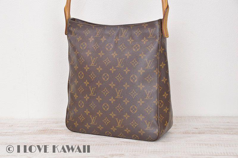 Louis Vuitton Monogram Looping GM Shoulder Bag M51145