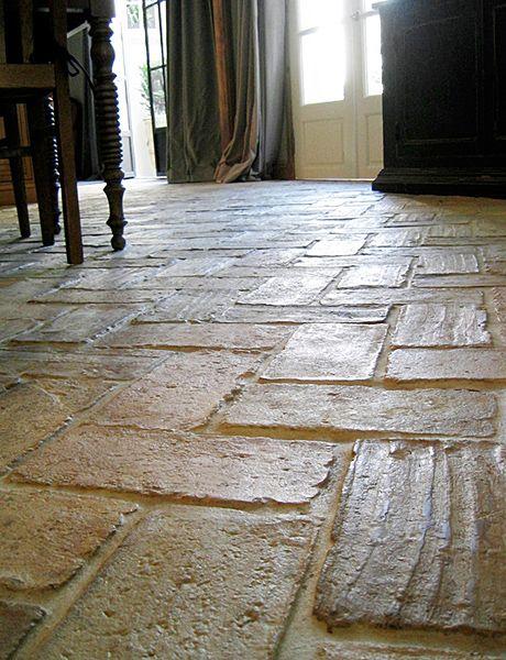Genuine Antique Terra Cotta Flooring Tiles No Two Floors