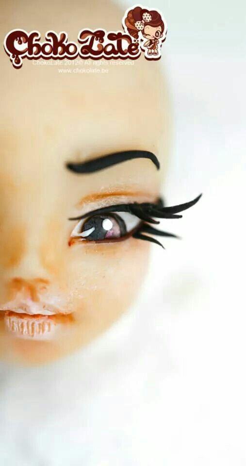 Beautiful chocolate eyes