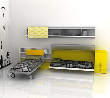 Italian designers create very useful space savers!