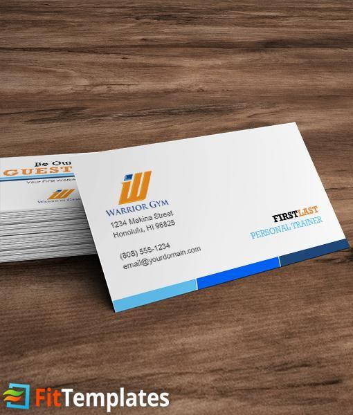 Gym business card template card templates business cards and template gym business card template colourmoves