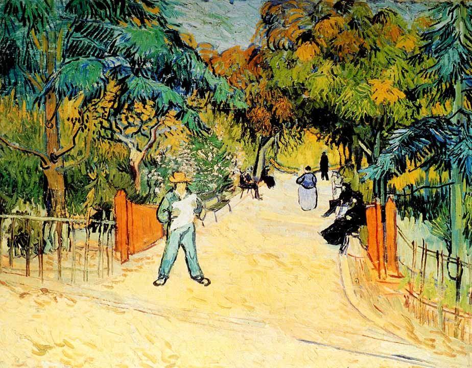 Entree Du Jardin Public Philips Octobre 1888 Vincent Van Gogh
