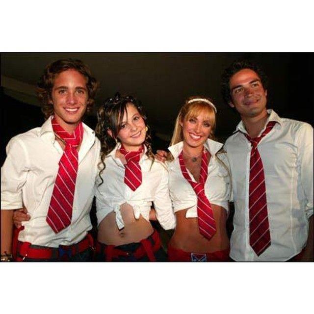Rocco, Bianca, Mia, y Miguel #diegoboneta#anahi#allison#poncho#rbd#rebelde#rbdmexico