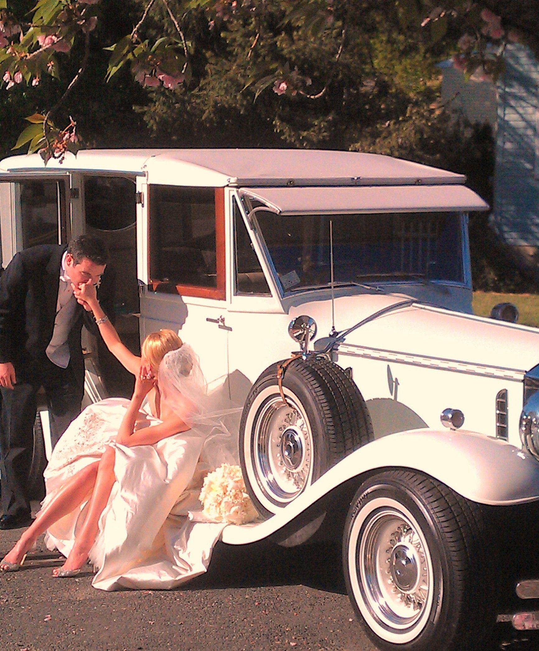 Taking a Break.....Moorestown NJ Wedding transportation