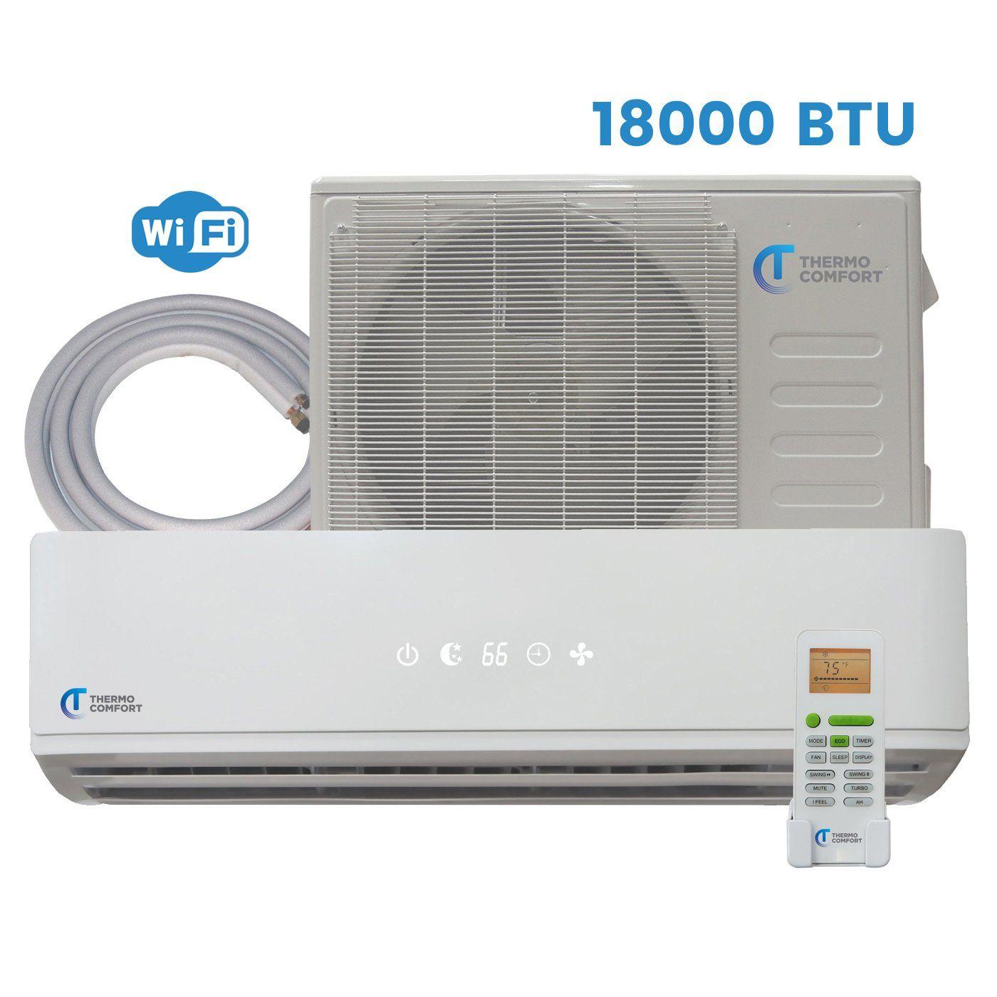 Mini Split Air Conditioner 18000 BTU 1.5 Ton 21.5 SEER