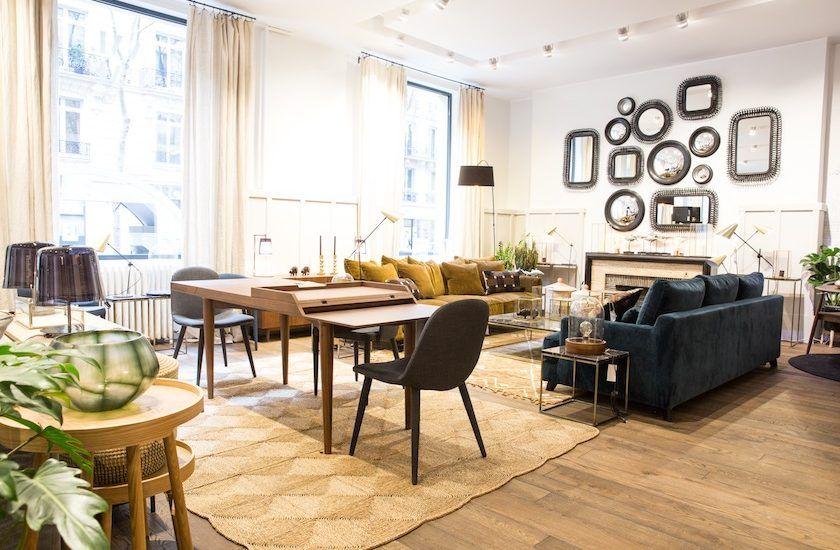 L Appartement Ampm La Nouvelle Boutique De L Avenue Victor Hugo Interieur Maison De Campagne Inspiration Salon Deco Maison