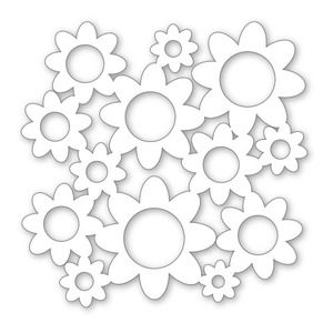*Simon Says Stamp STAMPtember® Stencil BOLD FLOWERS 121301