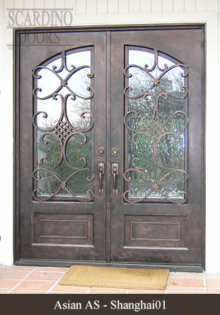 Scardino Doorsu0027 custom wrought iron doors will be the perfect addition to your property. & Asian wrought iron door designs | Wrought iron | Pinterest | Door ...