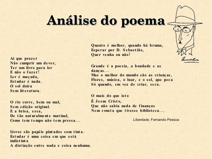 Preferência Poema Liberdade, de Fernando Pessoa | POESIASPOEMASTEXTOS  SI47