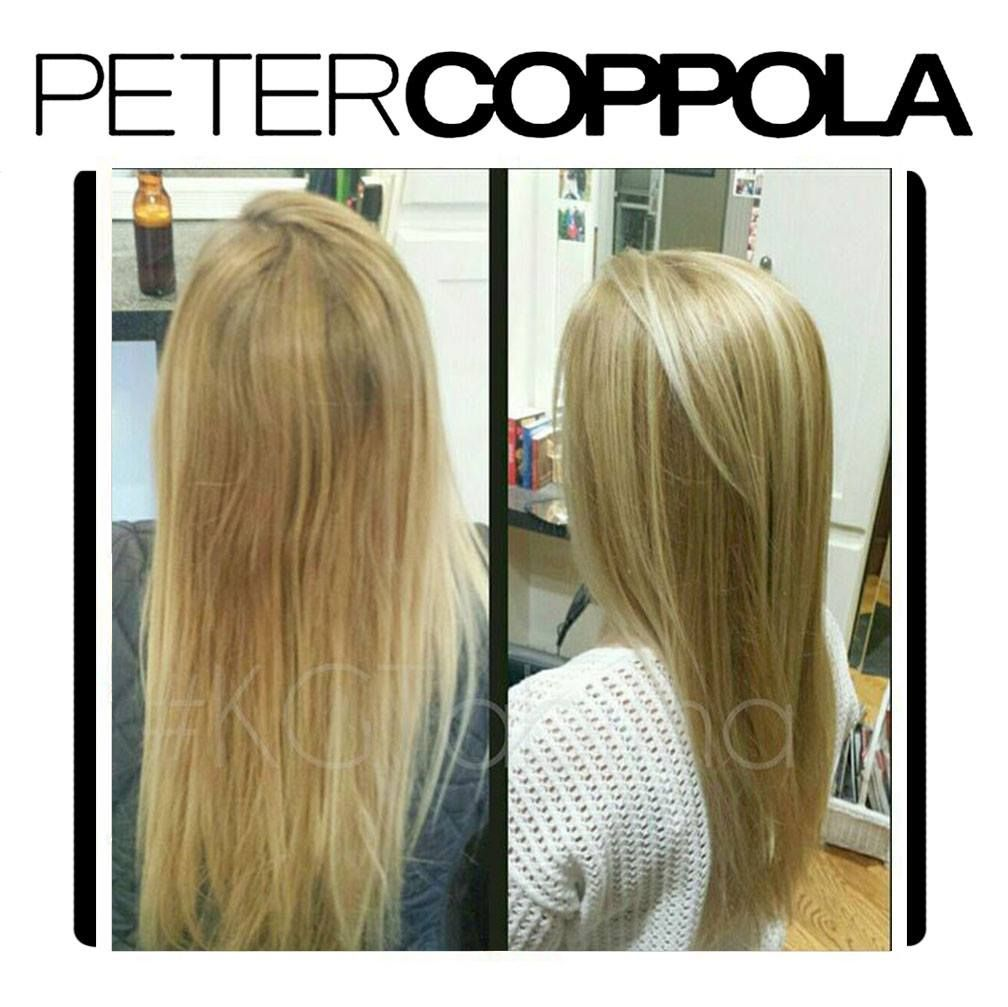 Peter Coppola Before And After Tabitha Keratin Treatment