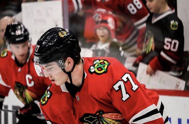Pin By Kiersten Dernulc On Hockey Boys In 2020 Hockey Baby Blackhawks Chicago Blackhawks