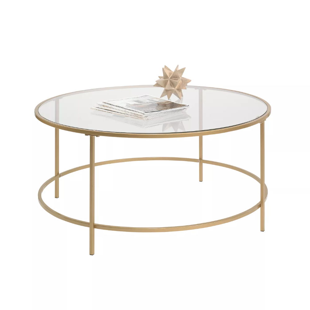 International Luxury Coffee Table Satin Gold Clear Glass Finish Sauder In 2021 Gold Coffee Table Luxury Coffee Table Metal Coffee Table [ 1000 x 1000 Pixel ]