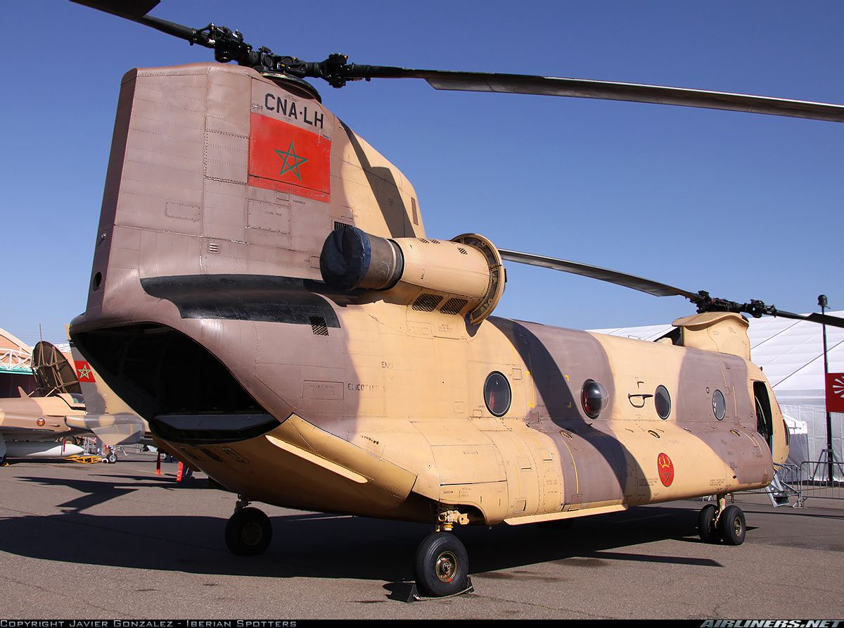 Elicottero Ch : Royal moroccan air force boeing elicotteri meridionali ch c