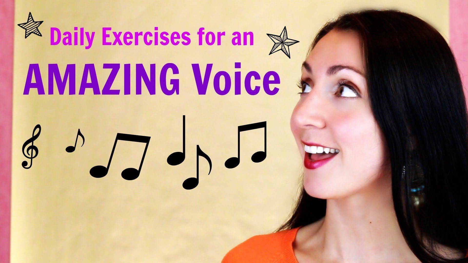 How to Maintain Your Singing Voice Singing exercises