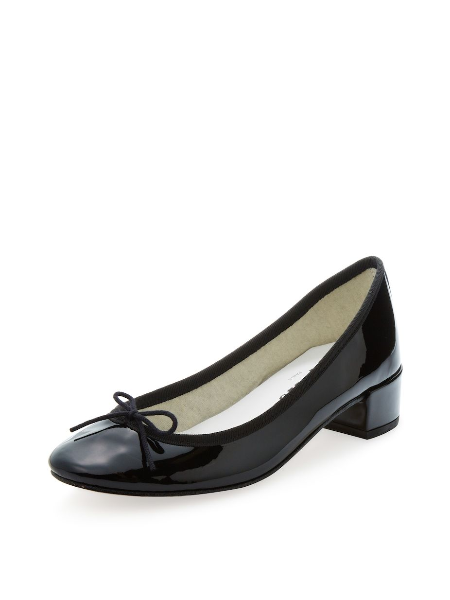ca3470f830c Repetto Camille Ballerina Patent Leather Block Heel Pump, #Repetto ...