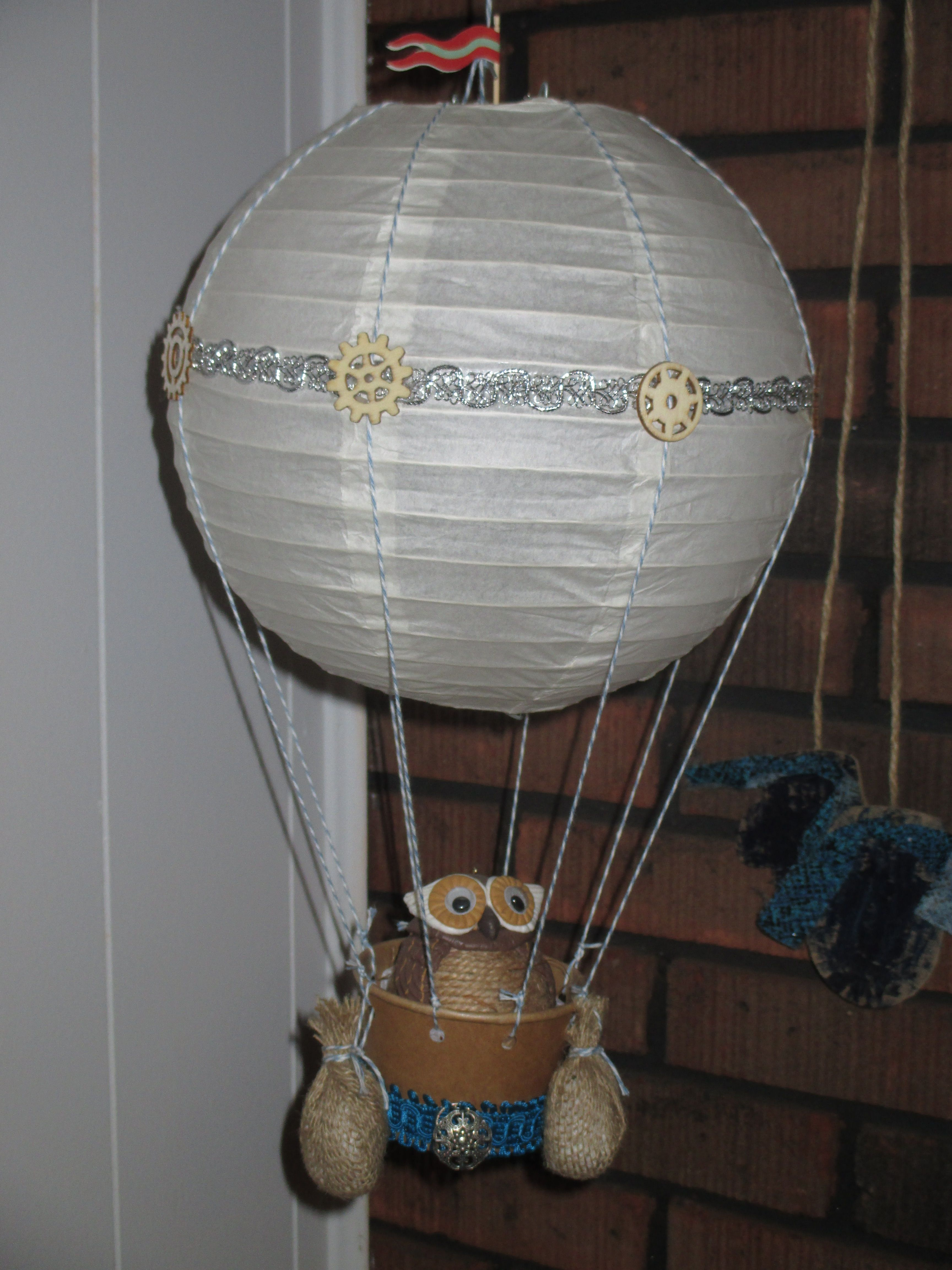 My interpretation of a steampunk hot air balloon