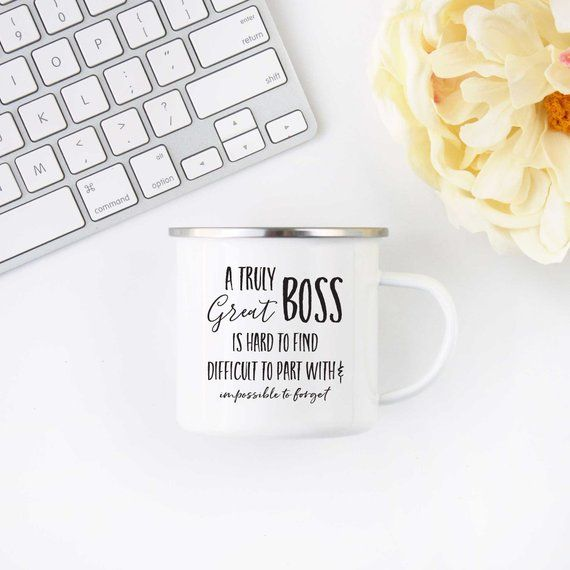 Truly Great Boss Coffee Mug | Camp Mug | Boss Gift | Gift for Boss | Gift for Her | Best Friend Gift | Gift for Him | Boss's Day Gift #bosscoffee