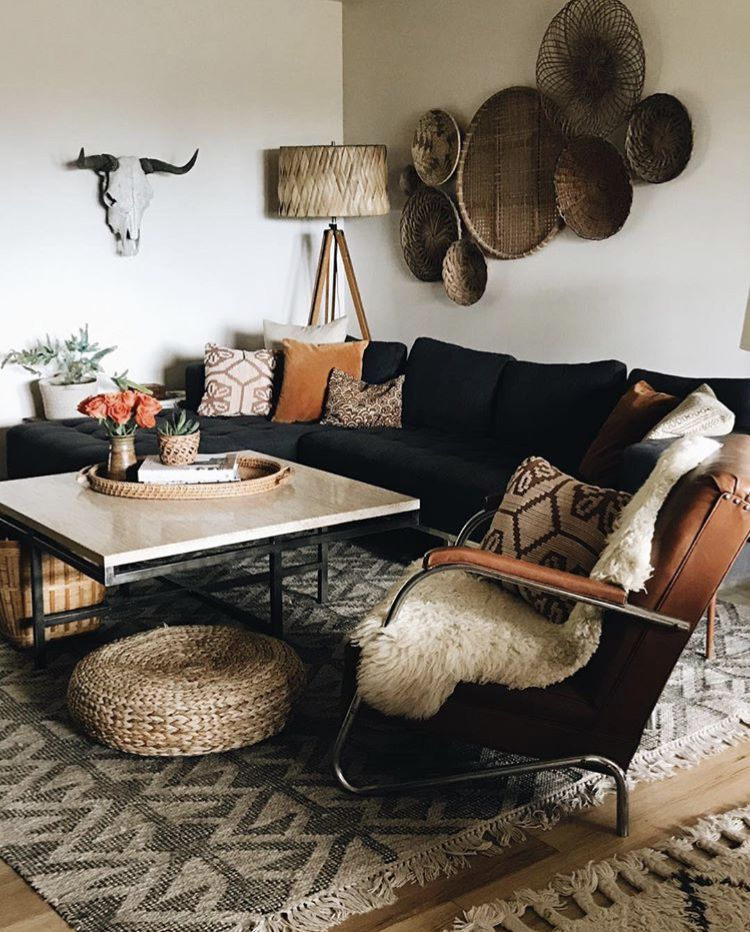 pin by deedee hernandez on home decor black couch living on beautiful modern black white living room inspired id=52564