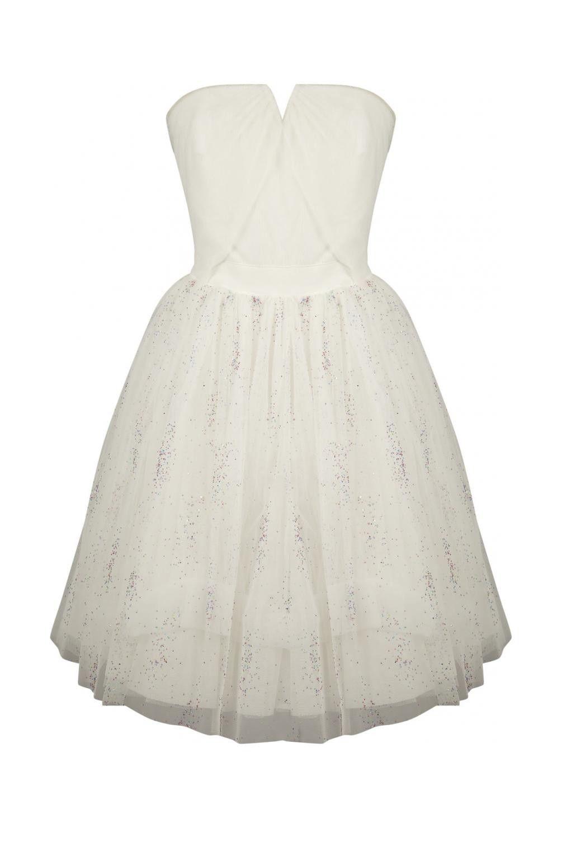 Robe blanche naf naf mariage
