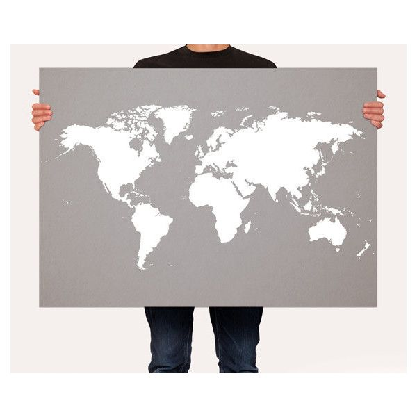 World map poster customizable color map world map art print wall world map poster customizable color map world map art print wall hanging large medium size gumiabroncs Images