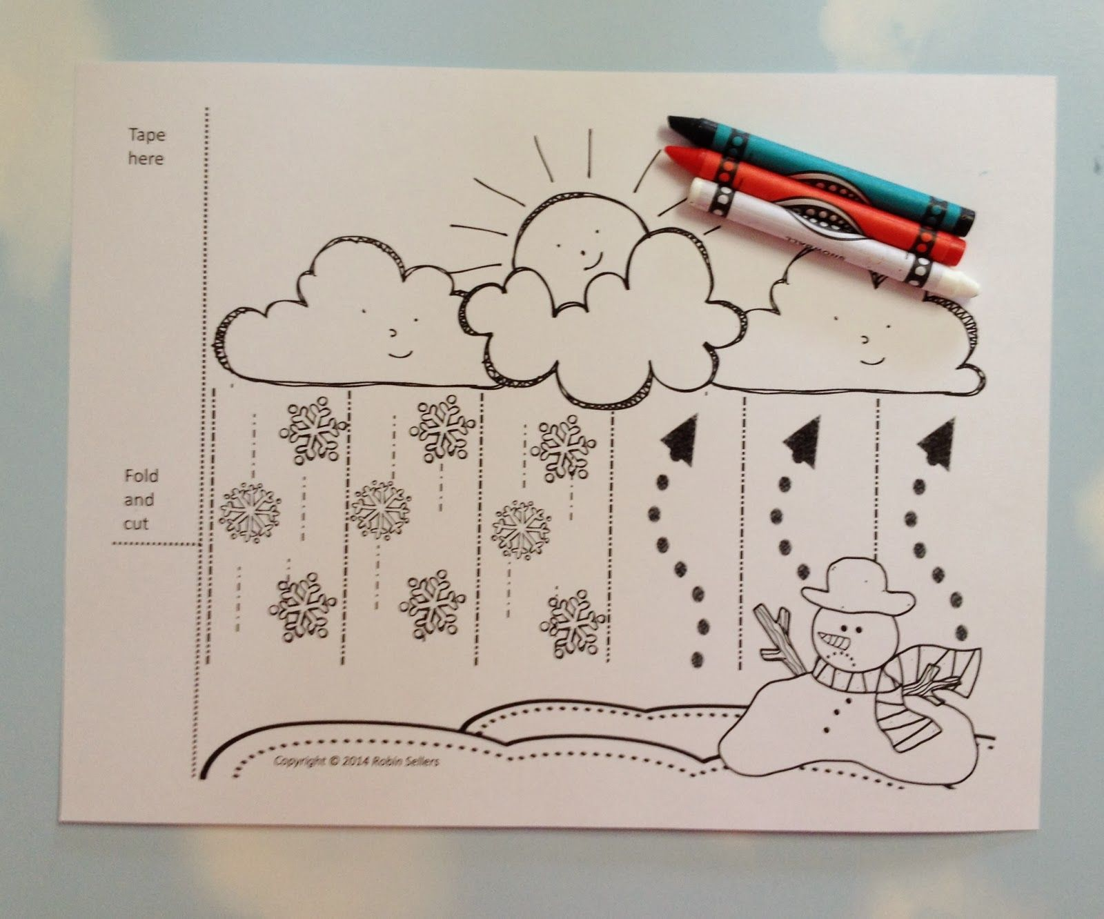 Snow Cycle Craft
