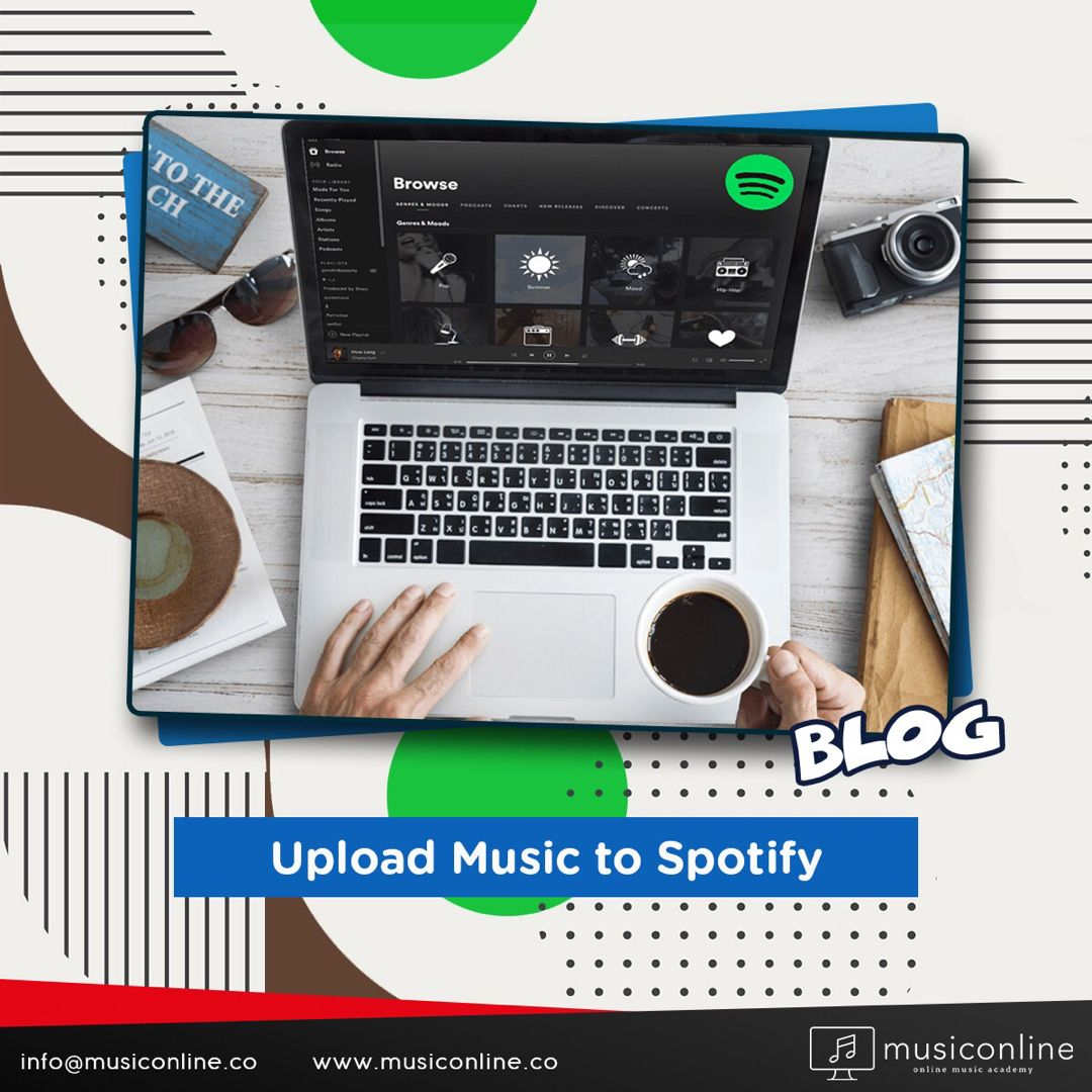 You May Be Making Beautiful Songs Do You Know How To Upload Them To Spotify One Of The Most Popular Music Pla Upload Music Most Popular Music Music Bloggers