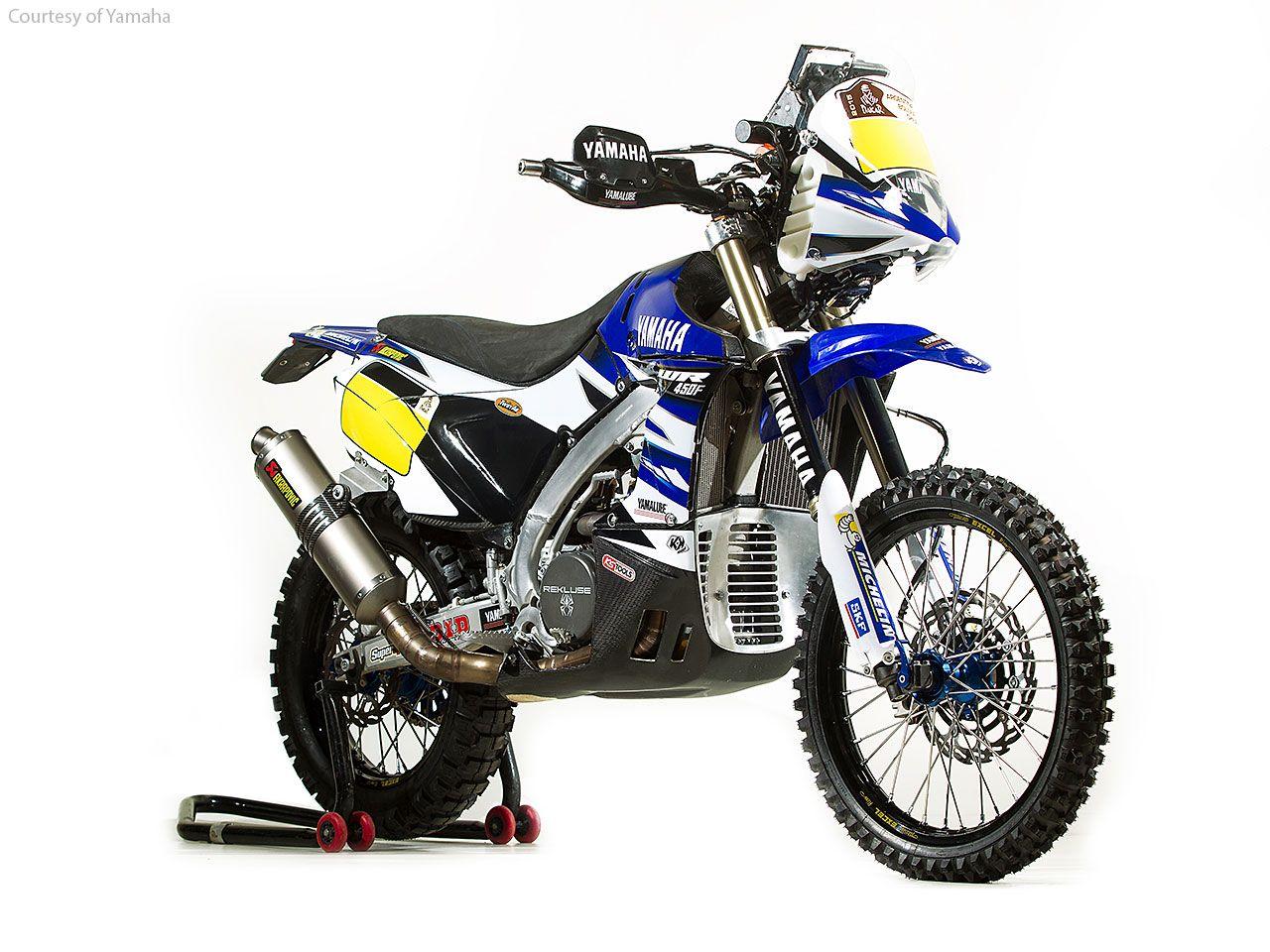 Yamaha WR450F Rally Updated for Dakar 2015 Motorcycle