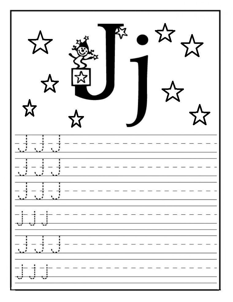 letter j worksheet for preschool tk letter j kindergarten worksheets letter j activities. Black Bedroom Furniture Sets. Home Design Ideas
