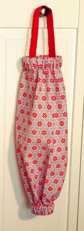 Bag Dispenser Plastic Bag Holder Paisley Grocery Bag Holder