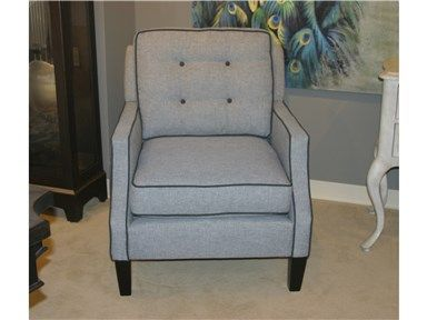 Shop For Goods Furniture Outlet   Charlotte Cole Chair By Rowe Furniture,  N670 006